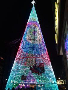 Arbol de Navidad en la Puerta del Sol - Vigo Navidad 2017