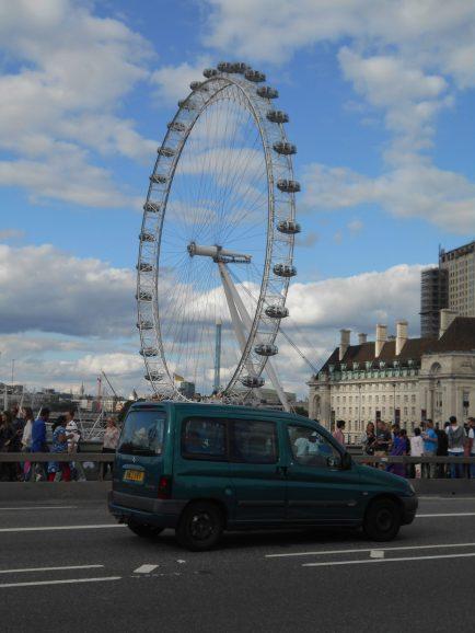 London Eye - El Ojo de Londres - Londres Agosto 2017