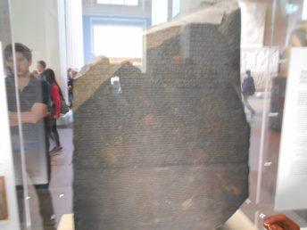 La Piedra de Rosetta British Museum – Londres