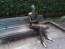 Estatua Valle-Inclán - Alameda Santiago de Compostela