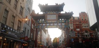 Chinatown el Barrio Chino de Londres