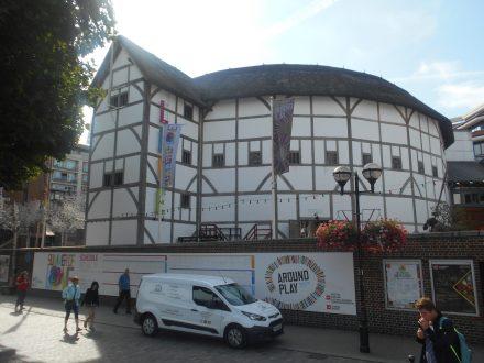 Shakespeare's Globe Theatre en Londres