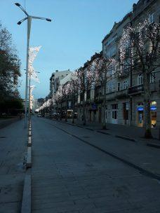 Iluminación de navidad en Montero Ríos. Alumbrado Navidad Vigo 2018