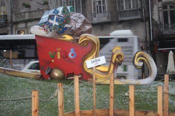 Porta do Sol. Alumbrado Navidad Vigo 2019