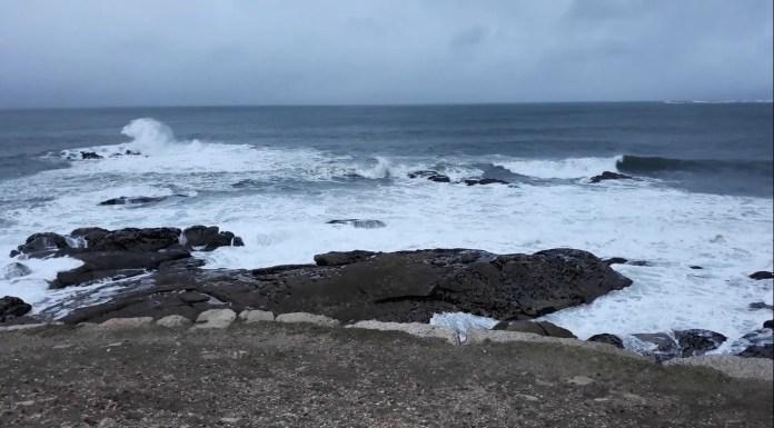 Vídeo: Vistas al mar en la Costa de Bayona - Galicia