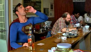 Image result for superman drunk