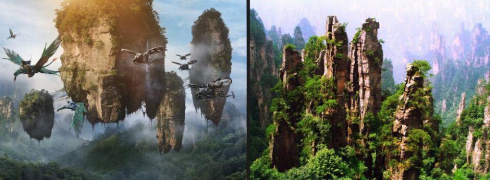 Destinos Pelicula Pandora China