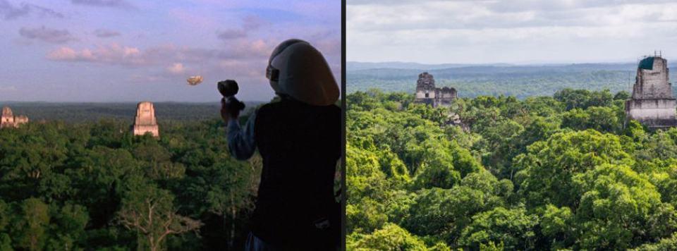 Destinos Pelicula Star Wars Guatemala
