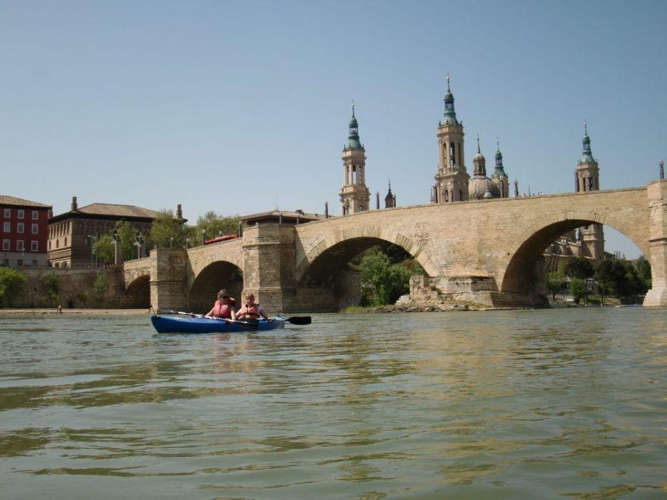 En piragua por el Ebro Zaragoza