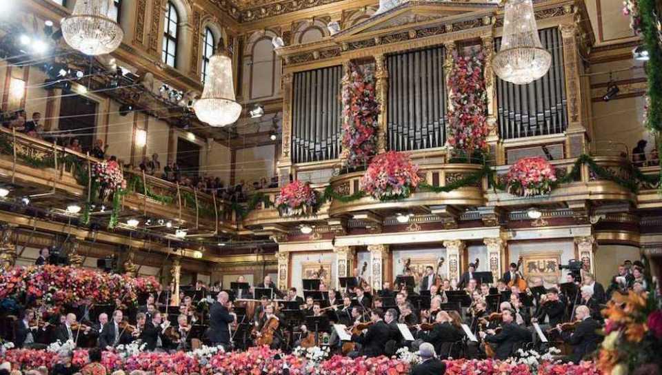 Concierto Nochevieja en Viena