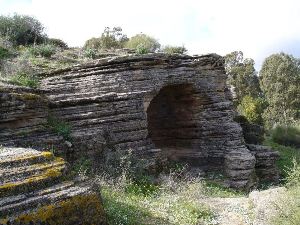 Necropolis de los algarbes en Tarifa