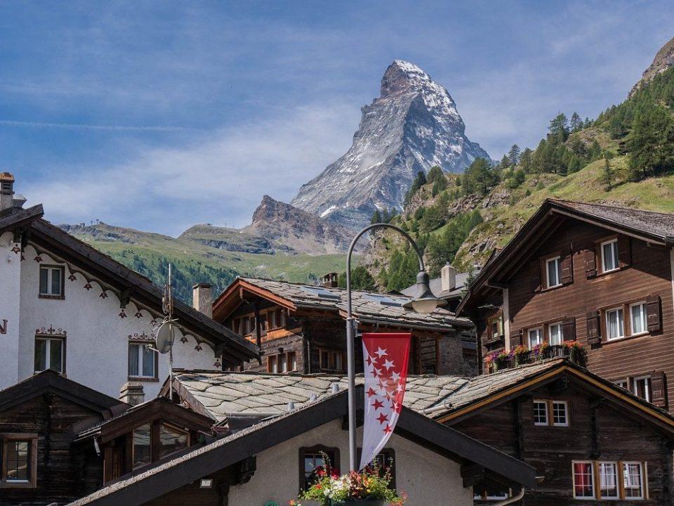 Zermatt, pueblo de Suiza