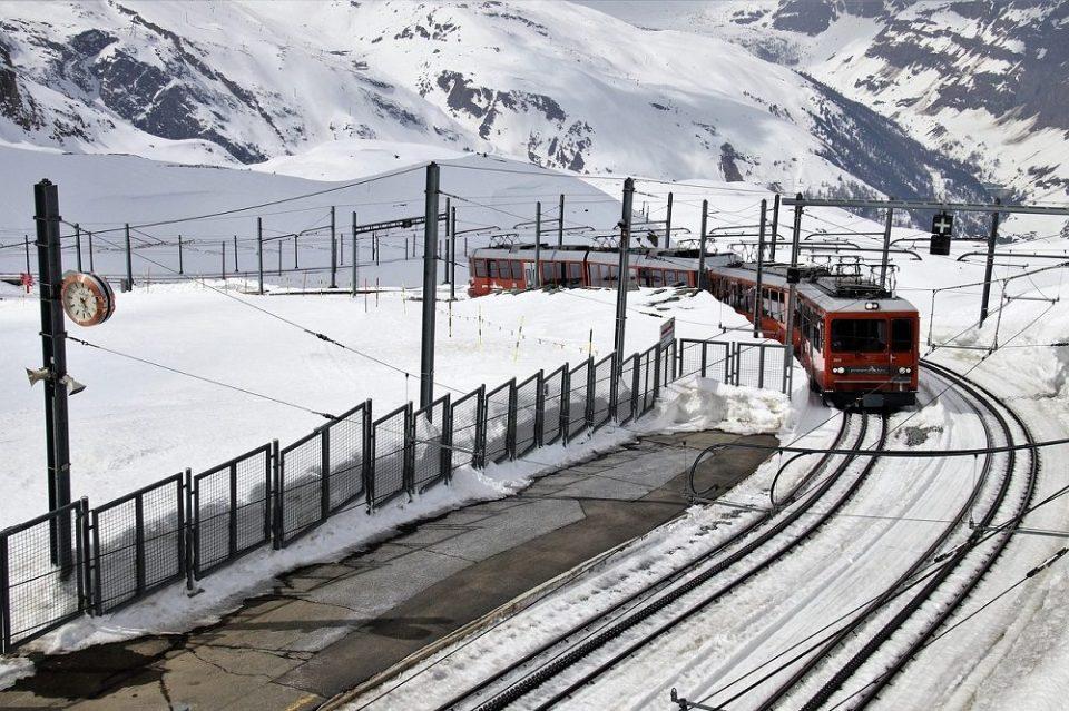 Llegar a Zermatt en tren