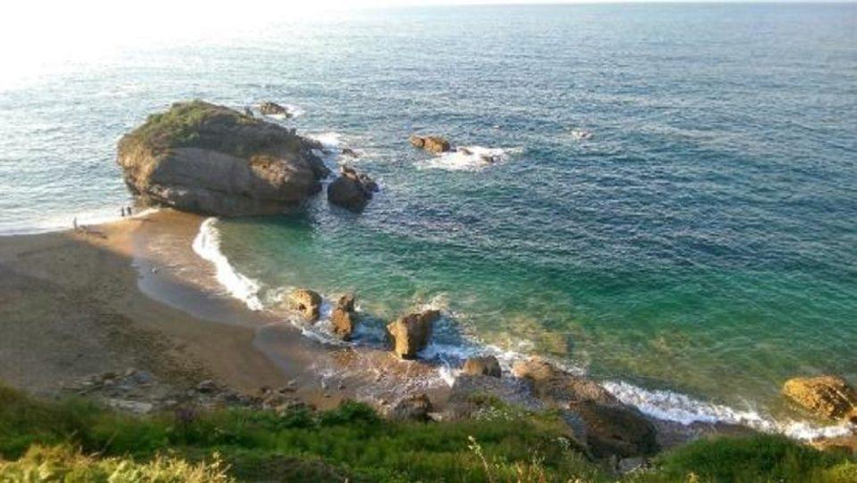 Playa de Estaño, en Asturias
