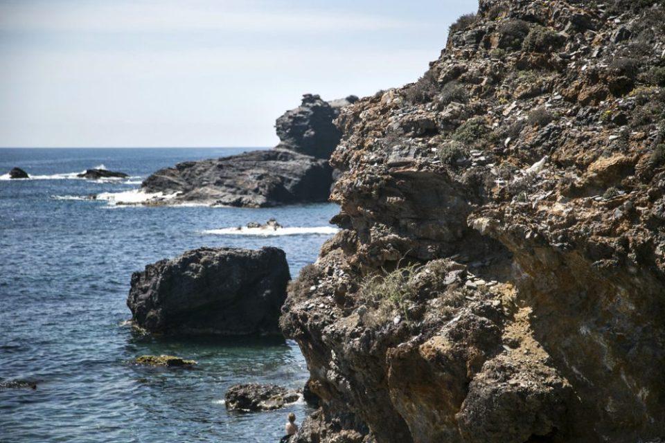 Rocas en Cala Flores, Murcia