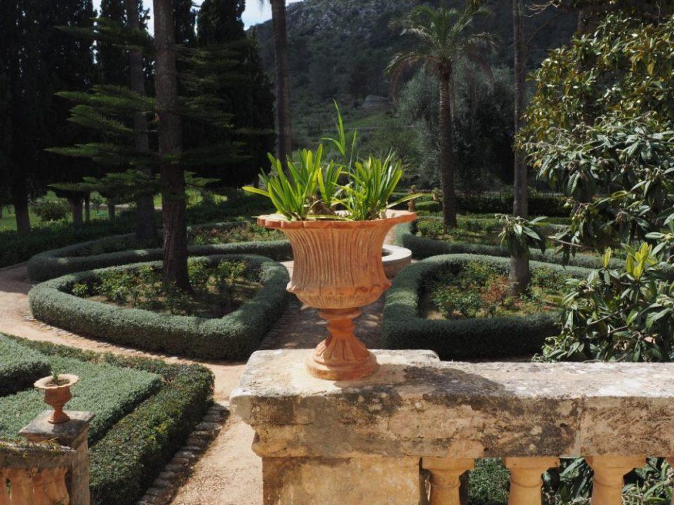 jardines de España tan bellos como este en Mallorca