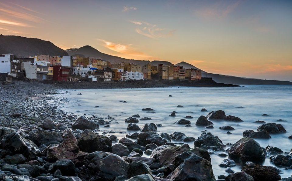 El Altillo, una de las mejores playas de rocas de España