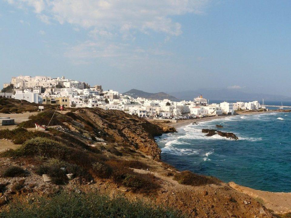 Ciudad de Naxos, uno de los pueblos costeros más bonitos de Grecia