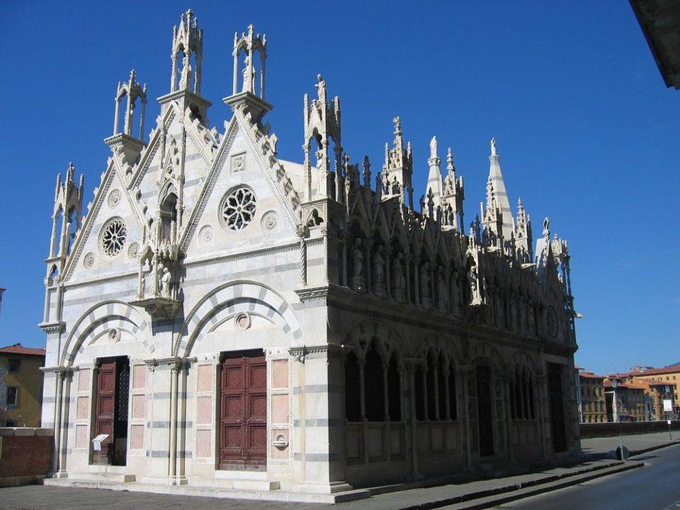 Iglesia de Santa Maria della Spina en Pisa