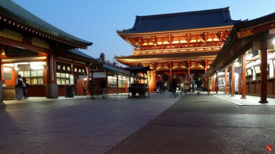 Zona tradicional de Tokio