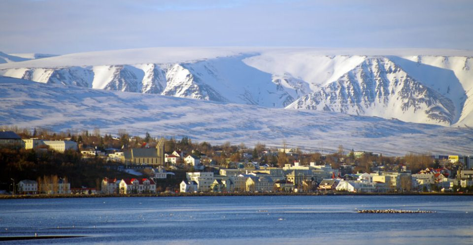 Akureyri, otro de los pueblos costeros más bonitos de Islandia