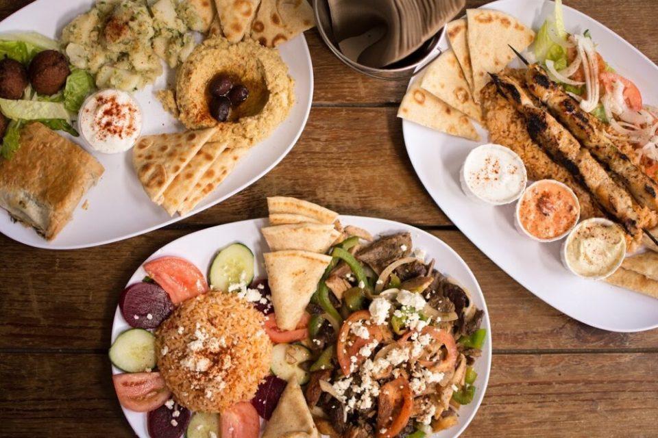 gastronomía de Santorini