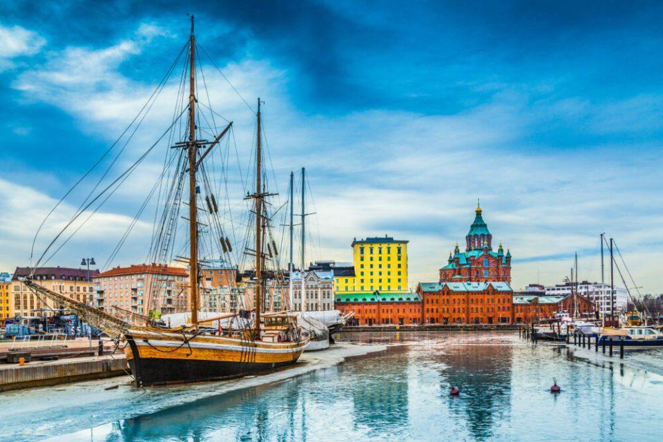 catedral ortodoxa en Helsinki