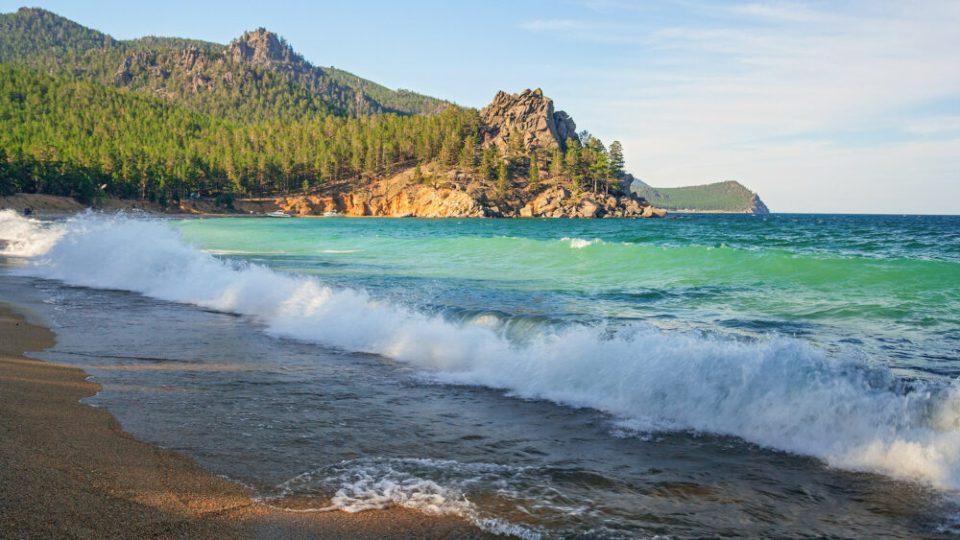 Playas lago Baikal - playas de Rusia para disfrutar del calor