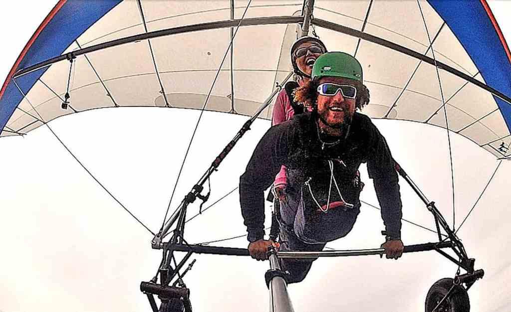 hang gliding at kitty hawk