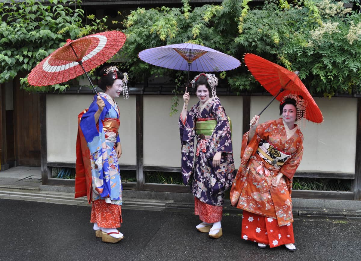 geisha kyoto japan