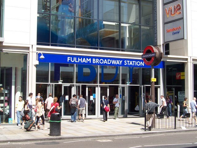 Luggage Storage Fulham Broadway Station 7 Days A Week