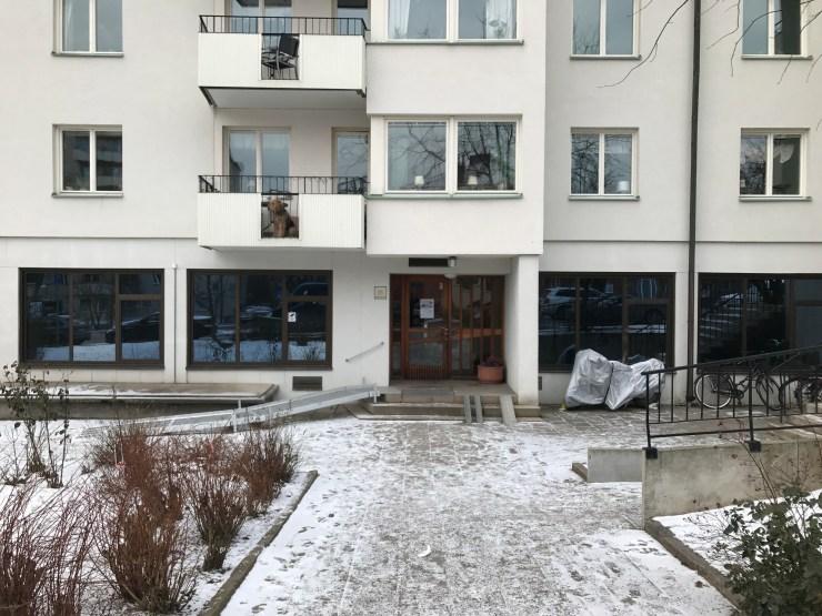 Fönster i BV skall bytas, här kommer nya lägenheter