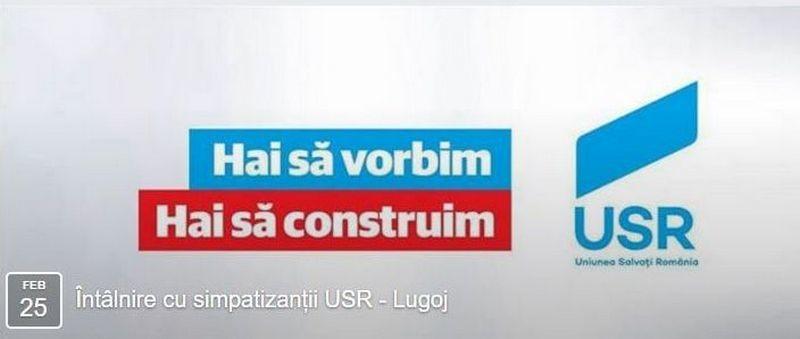 Lugoj Expres Parlamentarii USR Timiș, întâlnire cu lugojenii USR Timiș USR Uniunea Salvați România parlamentarii USR Timiș întâlnire cu lugojenii