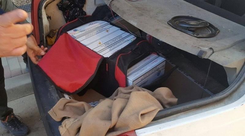Lugoj Expres O femeie, prinsă cu țigări de contrabandă în mașină țigări de contrabandă țigări confiscate țigări polițiștii Secției 6 Rurale Găvojdia Nădrag femeie contrabandă Bârna