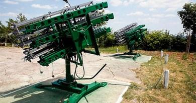 Lugoj Expres Deasupra Lugojului vor zbura... rachete antigrindină rachete protecția culturilor Lugoj Dealul Viilor bază de lansare antigrindină