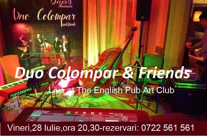 Lugoj Expres Duo Colompar & Friends, la English Pub Art Club Lugoj English Pub Art Club Lugoj Duo Colompar & Friends Duo Colompar concert Lugoj concert