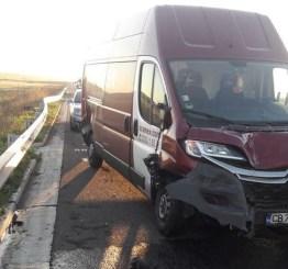 Lugoj Expres Accident mortal pe autostrada A1 (FOTO) victime ISU Timiș Impact violent autostrada A1 accident mortal accident grav accident