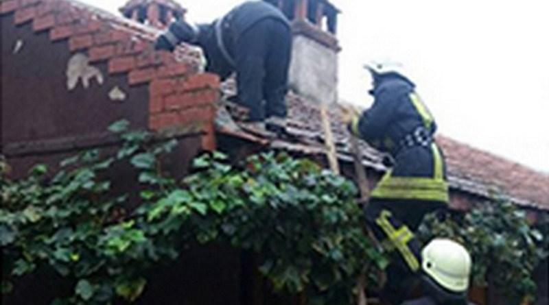 Lugoj Expres Incendiu la anexa unei case pompieri ISU Timiș incendiu Balinț incendiu