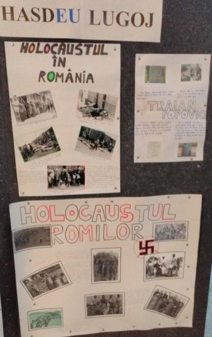 "Lugoj Expres Elevii Colegiului ""Iulia Hasdeu"" Lugoj au comemorat Holocaustul sinagoga holocaustul prin ochii copiilor holocaustul comemorat la Lugoj holocaust Comunitatea Evreiască Lugoj Colegiul Național ""Iulia Hasdeu"" Lugoj"