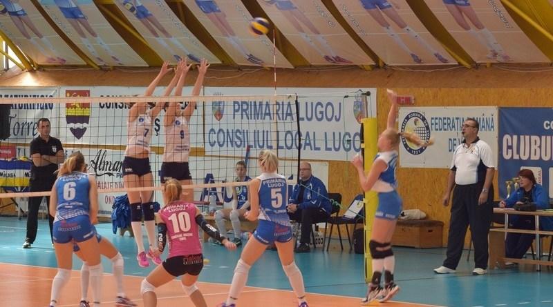 Lugoj Expres Victorie de trei puncte pentru CSM Lugoj volei victorie Divizia A1 CSU Medicina Tg. Mureș CSM Lugoj