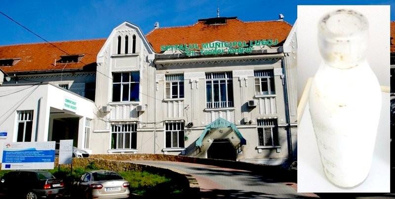 Lugoj Expres Imagini revoltătoare, la spitalul din Lugoj: Lapte dat la copii din sticle murdare sticle murdare spitalul din Lugoj spital situație revoltătoare mizerie igrasie anchetă internă