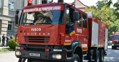 Lugoj Expres Pompierii lugojeni - 1.317 intervenții, în 2017 SMURD pompieri ISU Timiș intervenții Detașamentul de Pompieri Lugoj