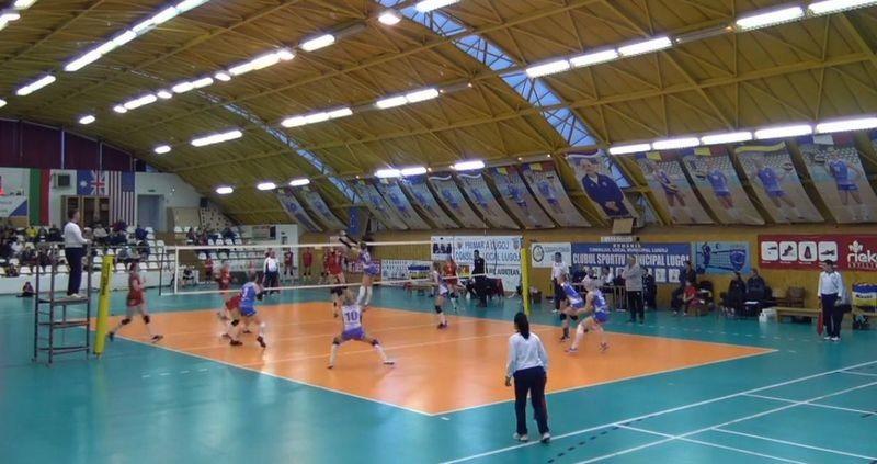 Lugoj Expres Agroland Timișoara, un nou succes la Lugoj volei play-off Divizia A1 derby bănățean CSM Lugoj Agroland Timișoara