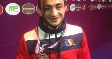 Lugoj Expres Bronz european pentru un sportiv de la CSM Lugoj medalie lupte Kaspiisk Ivan Guidea CSM Lugoj Campionatele Europene bronz