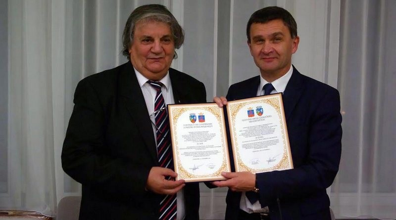 Lugoj Expres 25 de ani de parteneriat Lugoj –  Szekszárd vizită Szekszard prietenie parteneriat Lugoj înfrățire Francisc Boldea delegație Ács Rezső
