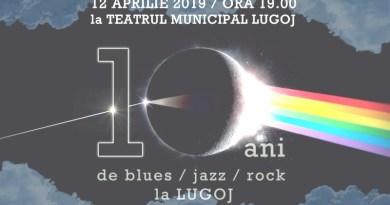 Lugoj Expres 10 ani de blues, jazz și rock, la Lugoj trupă tribute The Dark Side of the Moon sunet Speak Floyd rock Pink Floyd lumină Lugoj jazz concert extraordinar blues 10 ani