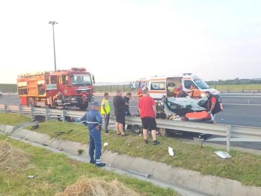 Lugoj Expres Tragedie pe Autostrada A1! Două persoane au murit și doi copii sunt în comă Traian Vuia tragedie Timișoara Lugoj doi morți copii în comă Balinț autostrada A1 accident grav accident
