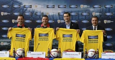 Lugoj Expres Timișoreana a devenit sponsor al echipei naționale U21 Timișoreana sponsor parteneriat FRF fotbal Federația Română de Fotbal echipa națională