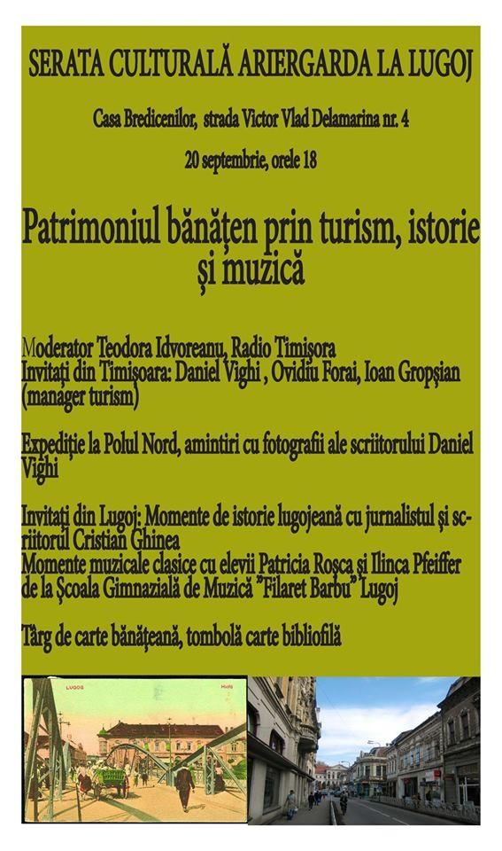 Lugoj Expres Serată culturală Ariergarda, la Casa Bredicenilor turism srată culturală Polul Nord patromoniul bănățean muzica Lugoj istorie expediție Casa Bredicenilor Ariergarda