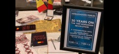 Lugoj Expres După 30 de ani: Revoluția Română, la Washington DC Washington DC Universitatea George Washington Universitatea de Vest Timișoara SUA Secretariatul de Stat revoluționari revoluția română proiect program Petrică Dorin Balint conferință 30 de ani de la revoluție